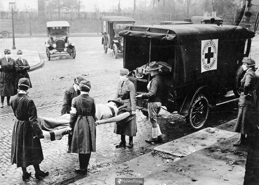 This Journal Investigates Life under the Human Danger of a Pandemic more than 100 years back
