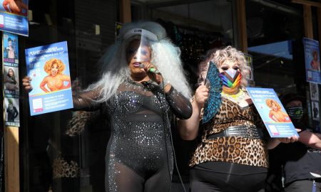 America's Drag Ambassadors aim to register voters one brunch show at a time
