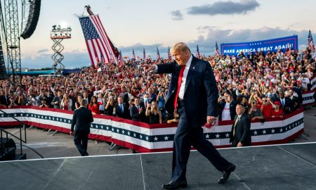 Trump tries to shore up Florida, Biden targets Michigan as early voting surges