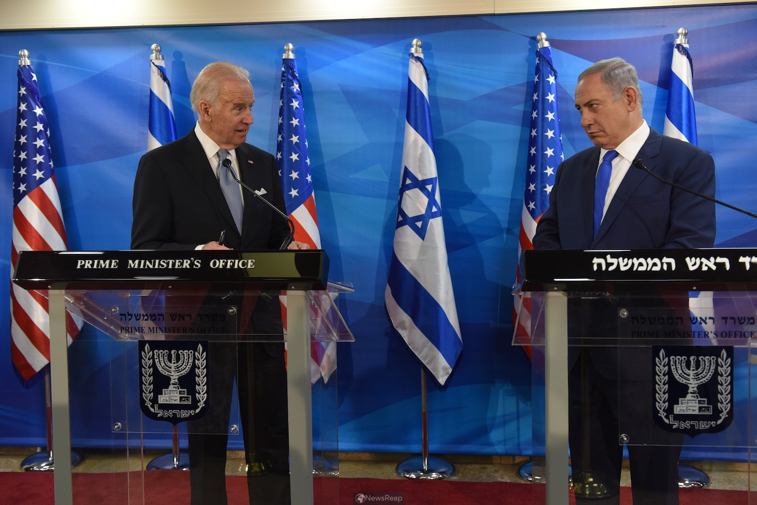 In Israel, Biden could differ with Netanyahu on Iran and settlements