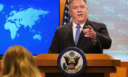 Pompeo voices confidence for second Trump administration, then softens tone on post-election transition