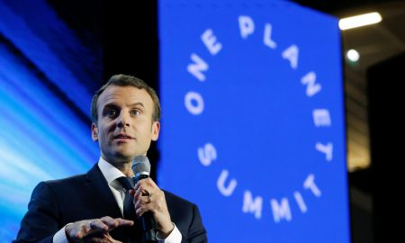 Macron hails chance to make our planet great again after Biden win