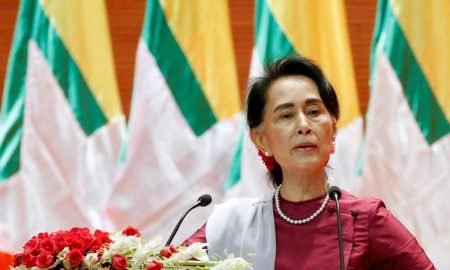 Suu Kyi's party pledges unity government after election landslide