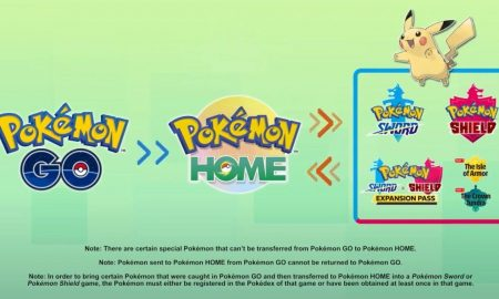 Pokemon Go Adds Home Connectivity to Transfer Pokemon to Nintendo Switch