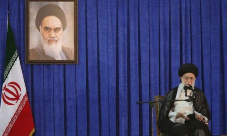 Khamenei says Iran's U.S. policy not affected by who wins election