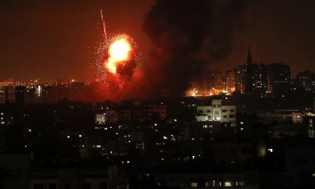 Palestinian rocket fire draws Israeli air strikes in Gaza