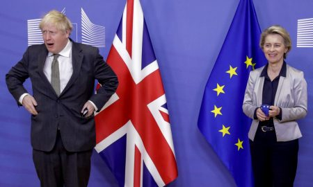 UK's Johnson says strong possibility of no-deal split in EU trading ties