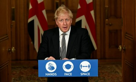 UK PM Johnson says he hopes to avoid another lockdown for England