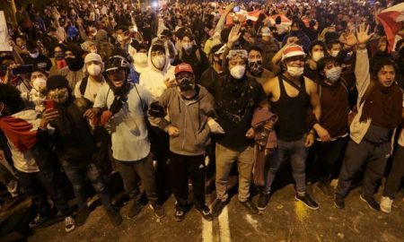Gas, marbles and lead pellets: Peru protest deaths turn spotlight on police violence