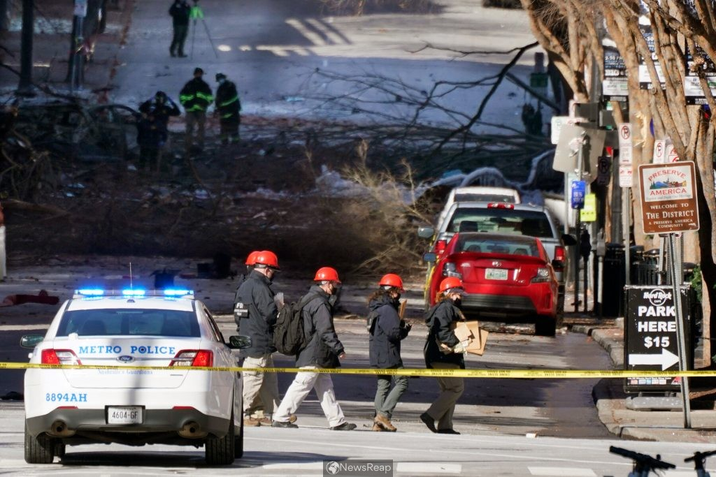 FBI visits real estate office where Nashville blast suspect worked -local media