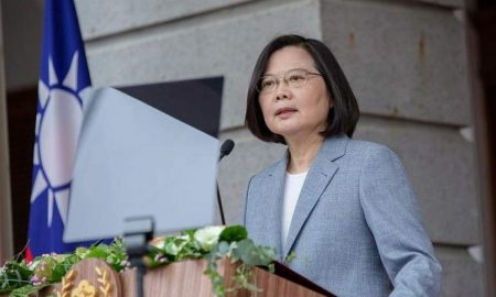 Taiwan says faces daily threat as U.S. notifies of new arms sale