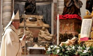 In Christmas message curbed by Covid, pope calls on nations to share vaccines