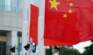 Hong Kong protest-related website says users' access blocked
