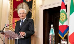 Italy's president asks parties to approve EU recovery plan before any crisis