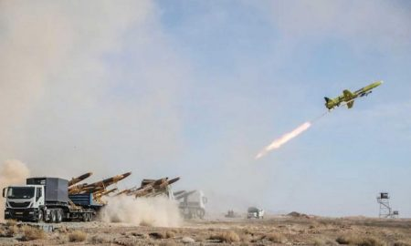 Iran launches missile drill amid rising tensions with U.S.