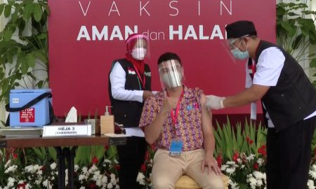 Instagram influencers are a vaccine priority in wary Indonesia