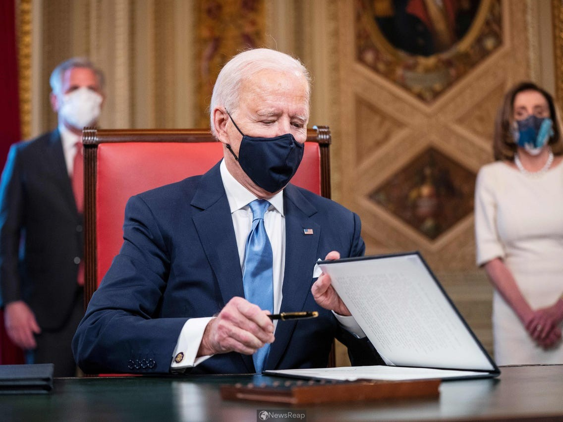 Biden seeks to speed delivery of coronavirus stimulus checks and food aid