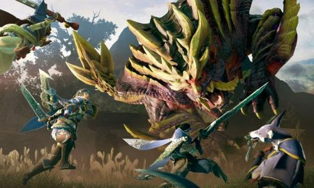 Nintendo Introduced the Monster Hunter Rise Special Edition Switch in Japan