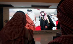 From embargo to embrace, Saudi Arabia pushes Gulf detente