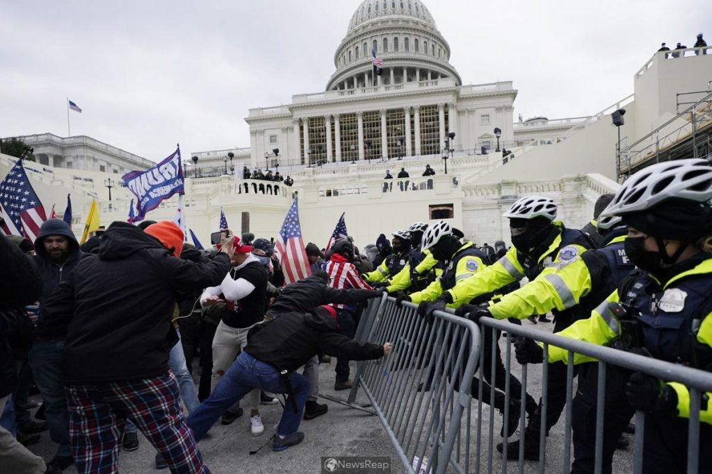 China draws comparison between storming of U.S. Capitol, HK protests