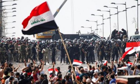 U.S. blacklists Iraqi militia leader in connection with deadly anti-govt protests