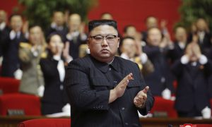 North Korea's Kim urges stronger military capabilities as party congress ends