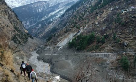 Himalayan glacier breaks in India, around 125 missing in floods