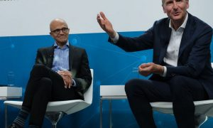 Volkswagen taps Microsoft's cloud to develop self-driving software