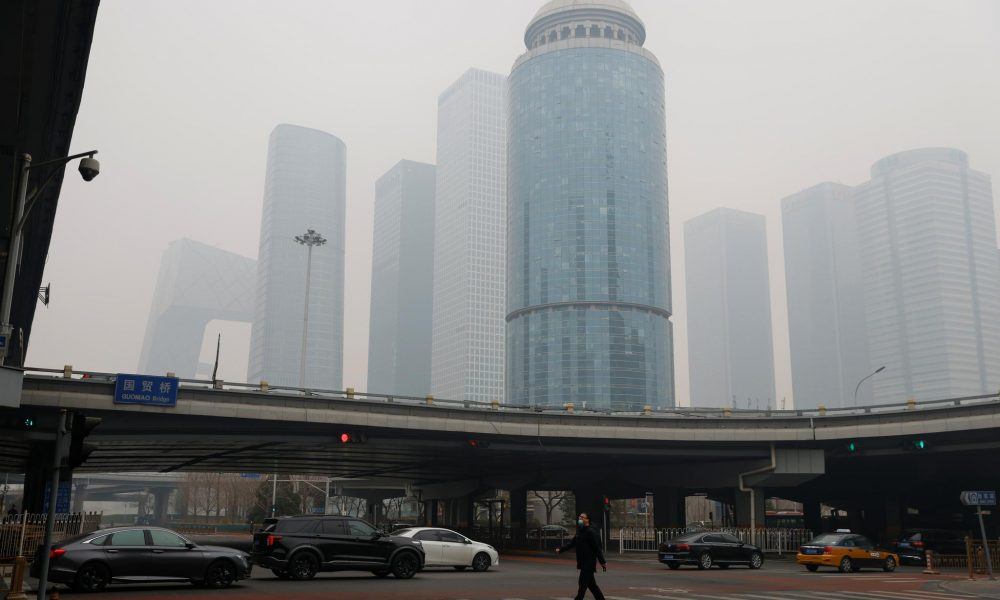 Beijing smog casts gloom over China's Lunar New Year holiday