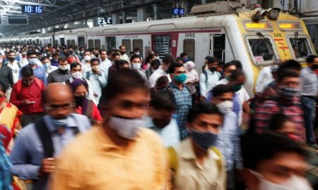 India virus infections at three-week high, Mumbai hires marshals to enforce mask-wearing