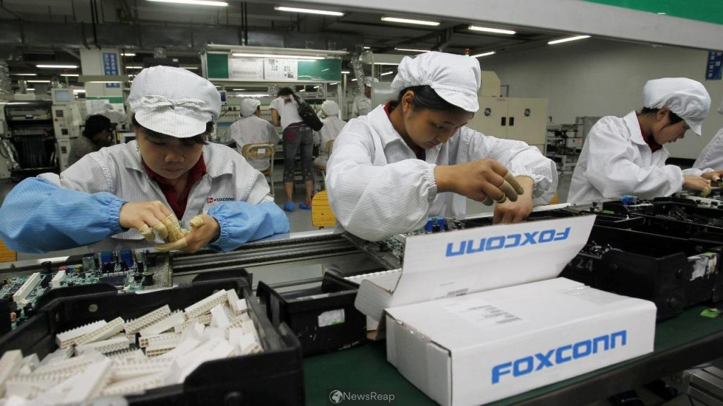 Foxconn chairman says expects limited impact from chip shortage on clients