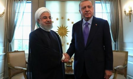 Erdogan tells Rouhani he sees window of opportunity for Iran, U.S. on sanctions