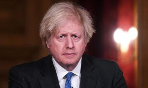 British PM Johnson to plot path out of lockdown on Monday