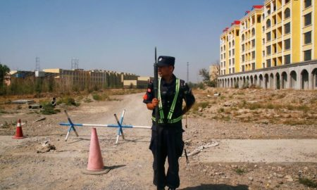 Britain denounces abuses on industrial scale in China's Xinjiang