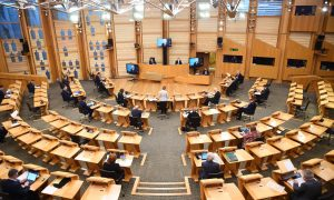 Scottish parliament rejects call for Trump wealth order