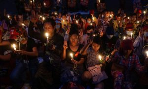 Huge crowds in Myanmar undeterred by worst day of violence
