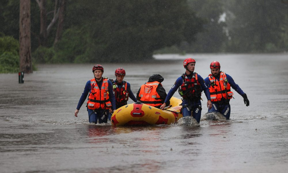 Australia to evacuate thousands as Sydney faces worst floods in 60 years