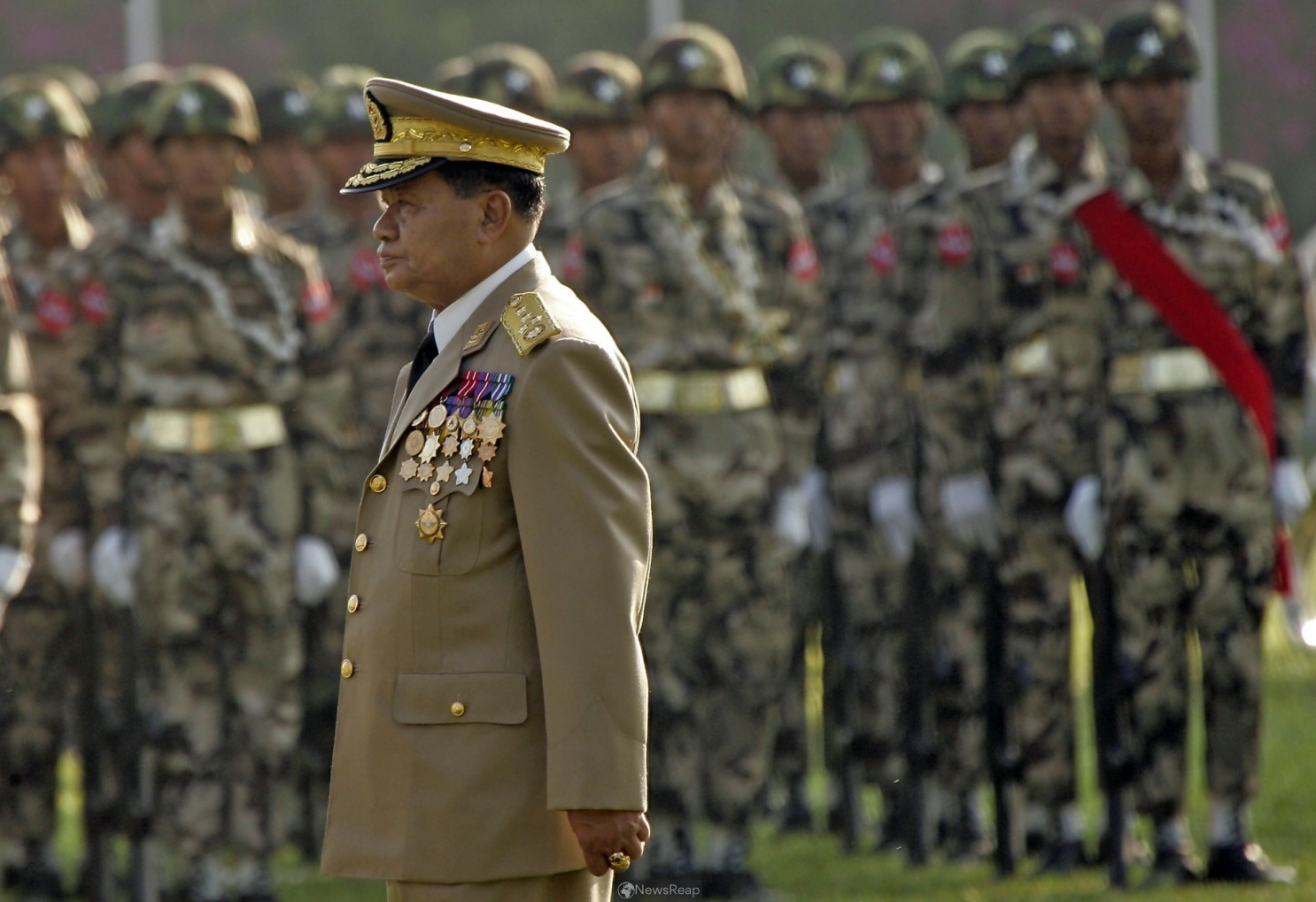 U.S. blacklists Myanmar police chief, army units over deadly crackdown