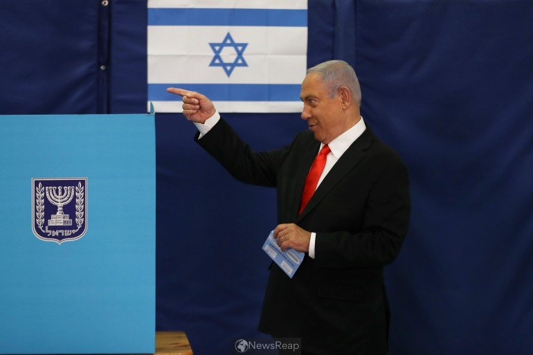 No clear winner in Israeli election, but Netanyahu could have edge: TV exit polls