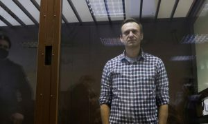 Jailed Kremlin critic Navalny says he is at risk of solitary confinement