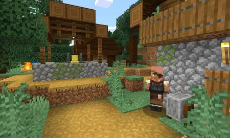 Minecraft: Java Edition Snapshot 21w11a tweaks copper and lightning rods from 'Caves and Cliffs Update'