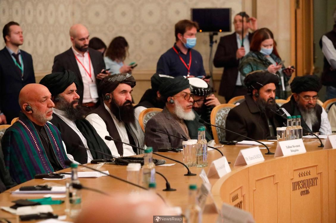 Afghan government, Taliban agree to accelerate peace talks after Moscow summit
