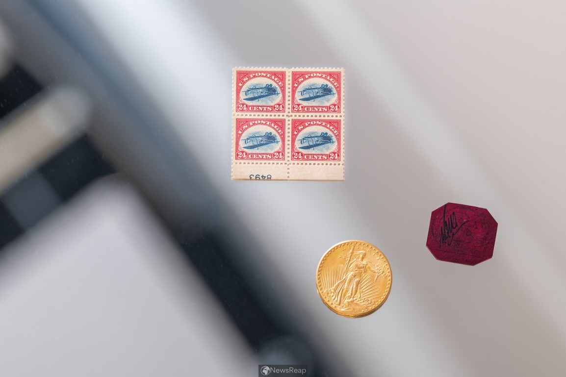 Sotheby's to auction rare stamps, gold coin from Stuart Weitzman's personal collection