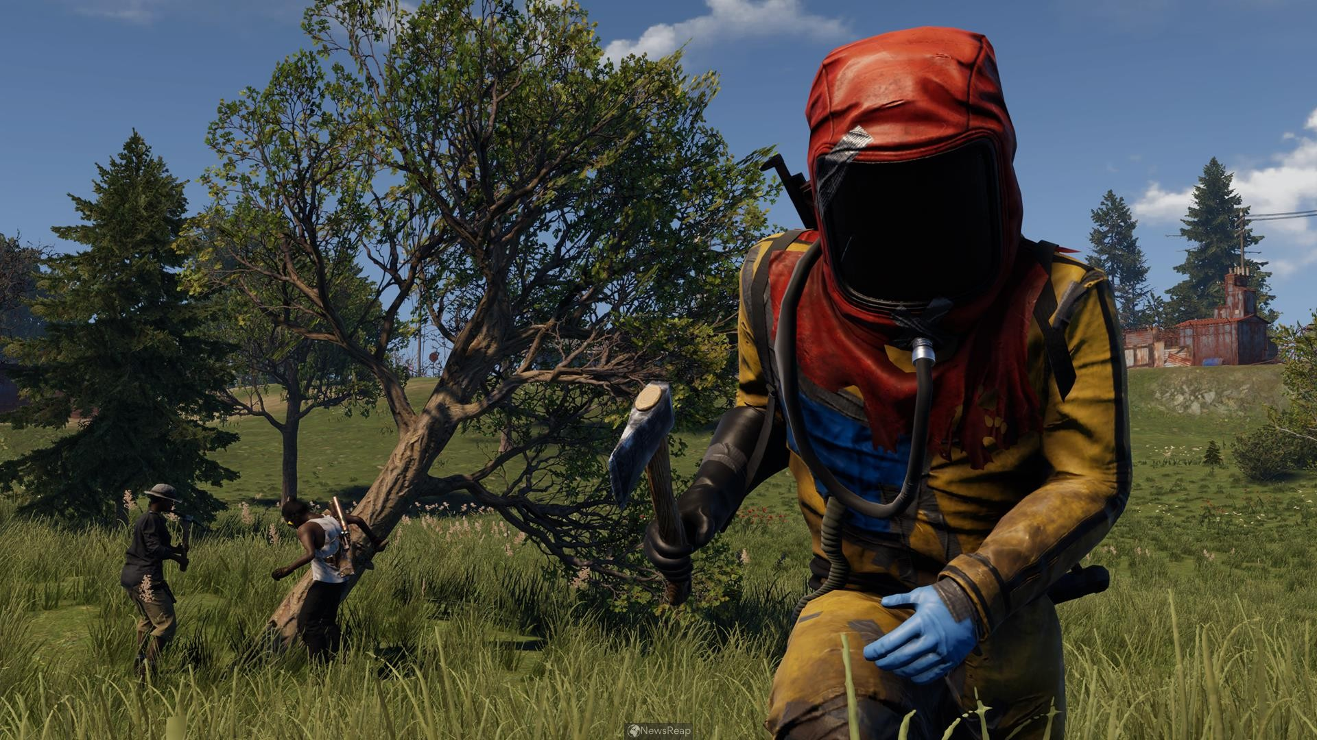 Survival Game 'Rust' Finally Arriving on PlayStation 4, Xbox One Spring 2021
