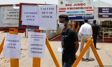 Overwhelmed India running short of COVID-19 vaccines