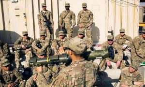Top U.S. commander in Afghanistan says steps to end military mission launched