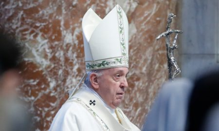 Do not give in to evil and division, Pope tells Myanmar community