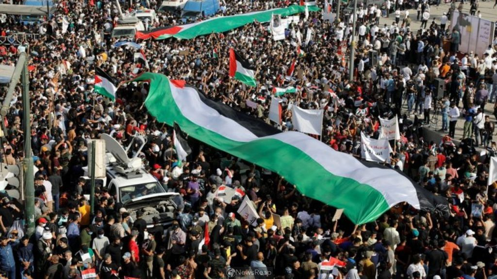 Iraqis hold anti-Israel protests after call by cleric, militias