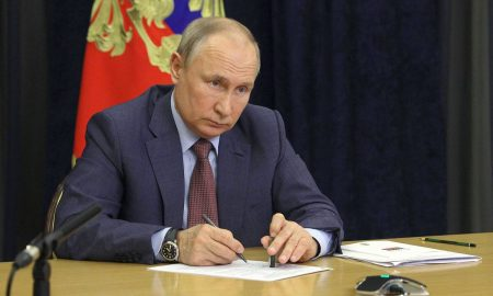 Putin signs law taking Russia out of Open Skies arms control treaty