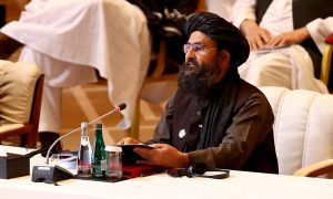 Taliban say committed to Afghan peace talks, want genuine Islamic system
